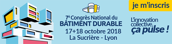 congre national du bâtiement durable  2018